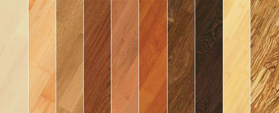 Innung Parkettlegerhandwerk und Fußbodentechnik Holzarten